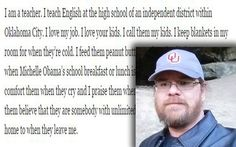 OKLAHOMA CITY, Okla. — A teacher's powerful open letter about the struggles of teachingis getting a lot of attention. Steven Wedel's brutally honest blog postis shedding light …