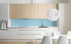 Backsplash STAR blue