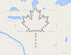 Created for the RCAF (Royal Canadian Air Force) 90th Anniversary GC50H3W Near Cold Lake, Alberta