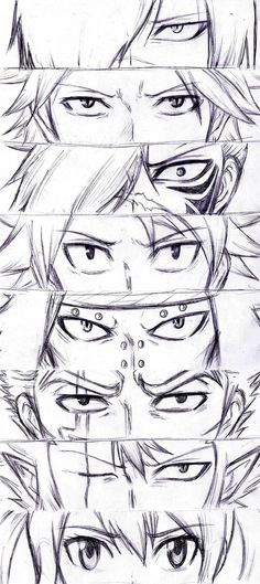 Fairy Tail - The Dragon Slayers - Rogue, Sting, Future Rogue, Natsu, Gajeel, Laxus, Cobra, Wendy