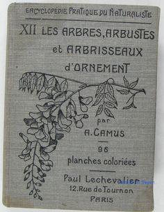 Les arbres, arbustes et arbrisseaux d'ornement A. Camus 1923 in Livres, BD, revues, Livres anciens, recherchés | eBay