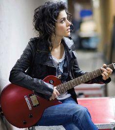 Katie Melua + Gibson Les Paul Goddess
