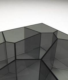 Table basse Alice 50 x 50 cm - Glas Italia