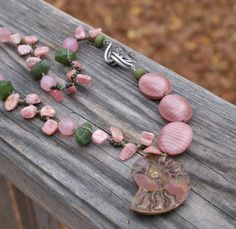 boho jewlery on etsy 2013 trends | ... Jade - Czech Glass - Earthy Bohemian Romantic Jewelry by YaY Jewelry