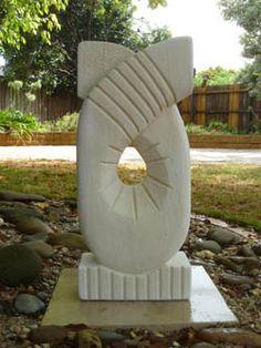 Beyond The Garden Gates - Sculptures in Limestone- Artist - Melbourne