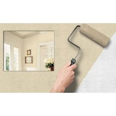 Imperial VP131607 Textured Stucco Paintable Wallpaper ($15)