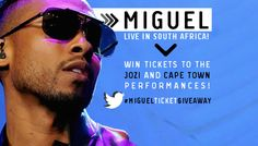 Let MTV Base 'Adorn' you with the coolest gift since sliced bread! Miguel is coming to South Africa for some exclusive concerts and we want to party with you! Visit www.mtvbase.com for more info.