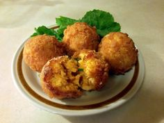 """Buffalo Chicken Cheddar Cheese Balls! 5.00 stars, 7 reviews. """"I just love this recipe. Me and my wife teamed up on this a bit. We used 2 cups of sharp shredded cheddar and sriracha instead of buffalo sauce; breaded with crushed pita chips seasoned with garlic and onion flakes."""""""