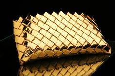 handmade gold purse-handbag