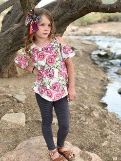 Saguaro Tunic Top PDF Sewing Pattern Toddler Child Tween Girl