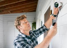What is the Best Outdoor Security Camera? - Home Security Camera - Ideas of Home Security Camera - Kevin OConnor discusses the latest security camera that you can connect to your smart phone Home Security Tips, Wireless Home Security Systems, Security Alarm, Security Surveillance, Security Cameras For Home, Safety And Security, Security Service, Security Products, Surveillance System