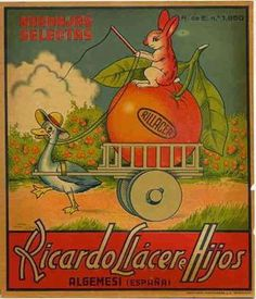 Cartel de Naranjas Ricardo Llacer - Algemesí