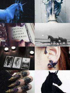"Animal Witch Aesthetics // Unicorn Witch  ""Requested  ""  Bird Witch 