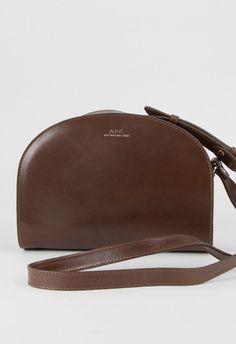 A.P.C. Half Moon Bag Brown – Voo Store