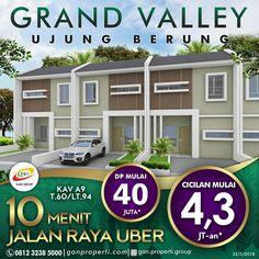 Survey dan Booking sekarang juga GRAND VALLEY UJUNG BERUNG! Mau Hunian 2 Lantai? Ada juga! -------------------------------------- + 10 menit dari jalan Raya Ujungberung + View Eksotik Kota Bandung + Dekat UIN, Akper Bakti Kencana,dll + One Gate System dengan keamanan 24jam + Dekat dengan kawasan Niaga (Griya Toserba, Superindo) -------------------------------------- Info pemesanan hubungi SEGERA 0812 3238 5000 (Telp/WA) Spek dan Pricelist cek di www.ganproperti.com  #house #rumahnyaman…