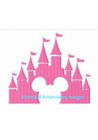 Mickey Castle Applique