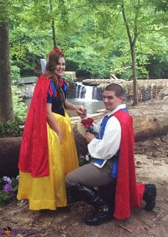 Snow White and her Prince Charming - 2016 Halloween Costume Contest