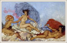 william Russel Flint - Aphrodite
