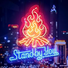 """Official髭男dismの""""Stand By You""""をApple Musicで Stand By You, You Youtube, Neon Signs, Apple, Twitter, Music, Green, Apple Fruit, Musica"""