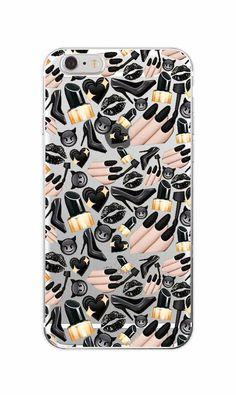 Girly MakeUp Lips Big Eyes Pineapple Secret Unicorn Rainbow Flamingo Soft Phone Case For iPhone 4 5 6 7 S Plus SE 5C