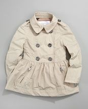 Burbery Skirted Trench