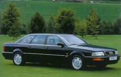 1991 Audi V8 Limousine Audi R8 V10 Plus, 1990s Cars, Jaguar Daimler, Audi 100, Volkswagen Group, Audi Cars, Limo, Car Manufacturers, Car Photos