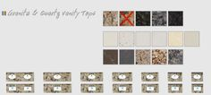 Granite and Quartz Bathroom Vanity Tops - Strasser Woodenworks