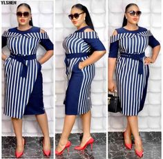 Latest African Fashion Dresses, African Dresses For Women, African Clothes, Dress Fashion, African Wear, African Attire, Classy Work Outfits, Classy Dress, Dress Clothes For Women