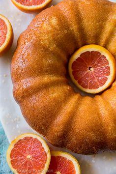 Bright, flavorful, CRAZY moist, and tender orange bundt cake! Find the recipe on…