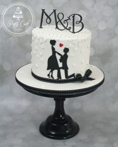 Engagement Cake Design, Engagement Cakes, Floral Wedding Cakes, Wedding Cake Designs, Wedding Cake Stands, Wedding Cupcakes, Anniversary Cake Designs, Anniversary Cakes, Bolo Naruto