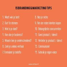 15 Branding & Marketing Tips op Flavourites Live Business