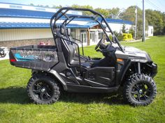 New 2016 Cfmoto UForce 500 HO EPS TT Camo ATVs For Sale in Pennsylvania. Utility Just Got Stronger! Our UFORCE 500, now with our High Output (HO) 500 cc engine, gives you more torque when you need it - over 11% more torque than the previous 500 cc engine. Pull more, carry more, work more. Now standard with Electronic Power Steering! Dimensions: - Wheelbase: 72 in. Operational: - Shocks: Spring preload, oil damped