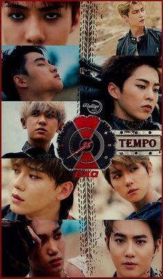 Exo Don't mess up my tempo Baekhyun Chanyeol, Exo Kai, Luhan And Kris, Exo Kokobop, Kpop Exo, Bts And Exo, Park Chanyeol, Exo Songs, Exo Music