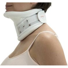 ITA-MED Rigid Plastic Cervical Collar with Chin Support - Soft foam padding and multiple ventilation holes lend a more comfortable fit to the ITA-MED Rigid Plastic Cervical Collar with Chin Support . Milwaukee Brace, Cervical Spinal Stenosis, Thigh Wrap, Posture Collar, Neck Surgery, Neck Injury, Types Of Eyes, Braces, Clothes