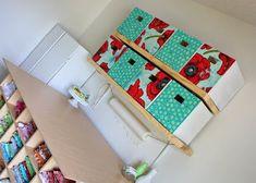 Com caixa organizadora de papelão e tecido a sua casa não vai ficar somente melhor organizada, mas também melhor decorada.