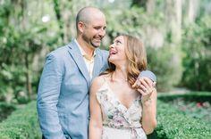 Fun Spring engagement photos at Magnolia Plantation in Charleston, South Carolina //   Aaron and Jillian Photography » Husband and Wife International Engagement & Wedding Photographers.