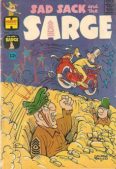 Vintage HARVEY COLLECTIBLE Comic Book 1962 Sad Sack and the Sarge Vol. 1 #30