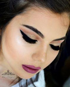 💄💋💄💋   #vidademaquiadora #ilovemakeupn#lumouramakeup #mua #makeup #makeuptheday #ficandodiva #espiaqueebapho #maquiagemporlumoura #beauty  #maquiagemx #maisvaidosa #instabgs  #maquiagembrasill #pausaparafeminices  #ficadicablog  #panelaobgs  #farganemakeup #georgeous  #makeuplove #vscocam #glam