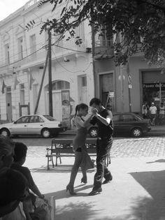 Street Tango, Buenos Aires, Argentina, Feb. 2006