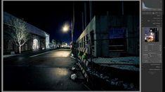 Lightroom Edit 001: Street Lights Long Exposures at Night