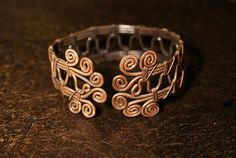 Wire Wrapped Bracelet-copper bracelet- wire wrapped copper bracelet -wire wrapped jewelry handmade-copper jewelry