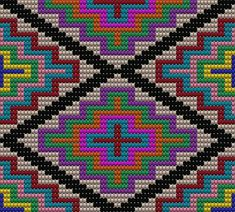 Tapestry Crochet Patterns, Bead Loom Patterns, Cross Stitch Patterns, Cross Stitch Embroidery, Embroidery Patterns, Cross Stitch Gallery, Mochila Crochet, Beaded Boxes, Tapestry Bag