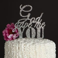 Get the Best for the Big Moment: This gorgeous cake topper will be the perfect addition to your wedding or anniversary cake! Celebrate your love by adding just the right amount of sparkle and elegance