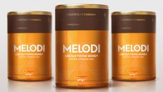 MELODI Premium Honey on Packaging of the World - Creative Package Design Gallery