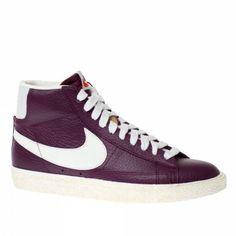Nike Trainers Shoes Womens Blazer Mid Lthr Vntg Purple: Amazon.co.uk: Shoes & Accessories