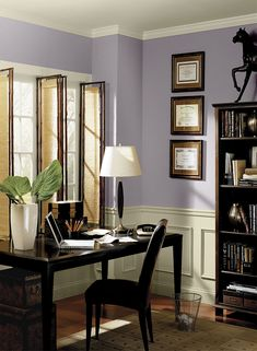 Interior Paint Ideas And Inspiration. Home Office ...