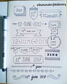 Ufu - Journal Ideas - JournalIdeen UfuUfu - Journalideen - JournalIdeen Ufu Apuntes Bonitos ✍️ Journalideen Ufu Apuntes An old route from my planner. Bullet Journal Inspo, Bullet Journal Headers, Bullet Journal Banner, Bullet Journal 2019, Bullet Journal Notebook, Bullet Journal Aesthetic, Bullet Journal School, Bullet Journal Ideas Pages, Notebook Doodles
