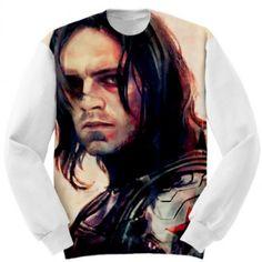 Barnes Winter Soldier Art Custom Sweatshirt