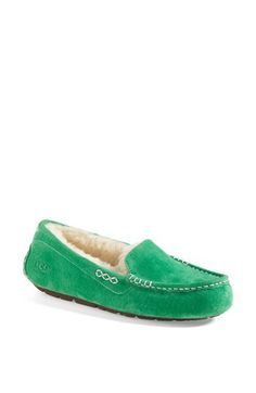 UGG® Australia 'Ansley' Slipper (Women) available at #Nordstrom I need the green ones!!