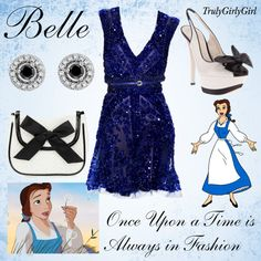 Disney Style: Belle (3), created by trulygirlygirl on Polyvore